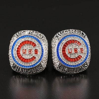 Replica Javier Báez and Anthony Rizzo Cubs 2016 World Champion Rings