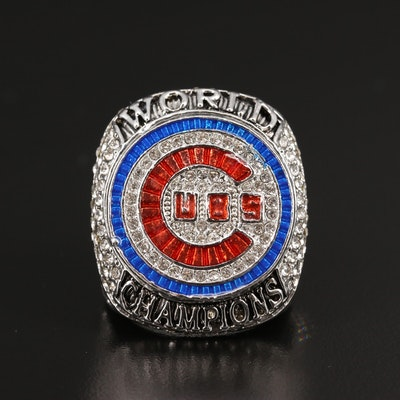 Replica Ben Zobrist Cubs 2016 World Championship Ring