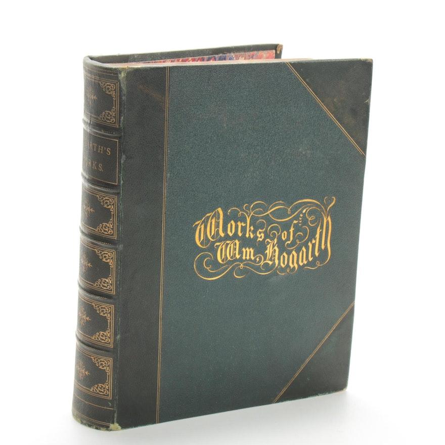"""The Works of William Hogarth"" Volume I by John Trusler, 1899"