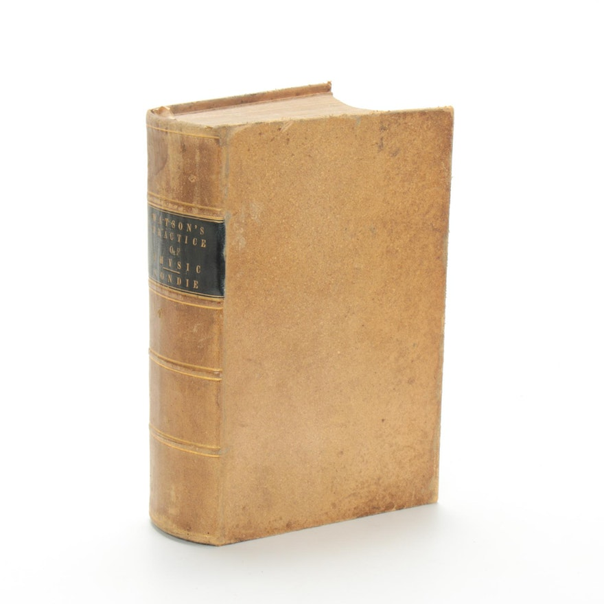 """""""Watson's Practice of Physic"""" Edited by D. Francis Condie, 1849"""