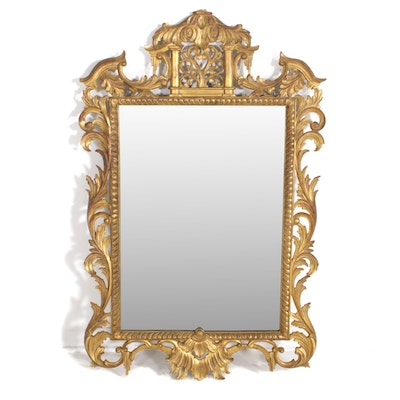 Baroque Style Gilt Composite Wall Mirror, Mid to Late 20th Century