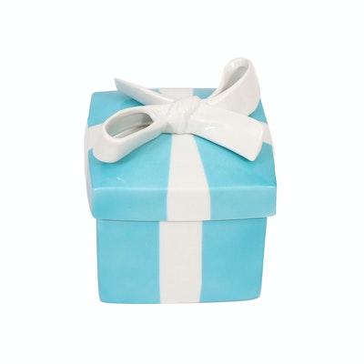 Tiffany & Co. Ceramic Trinket Box
