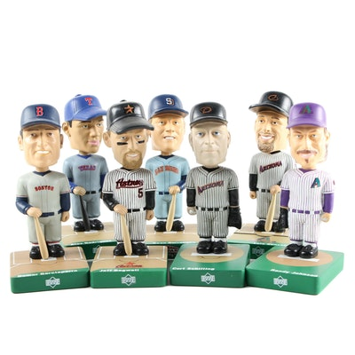 "Upper Deck ""Ballpark Idols"" Bobbleheads Including A-Rod, Bagwell, and Nomar"