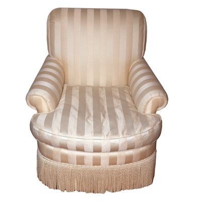 Dapha Furniture Fringe-Upholstered Armchair