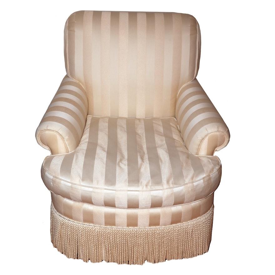Dapha Furniture Fringe-Upholstered Armchair