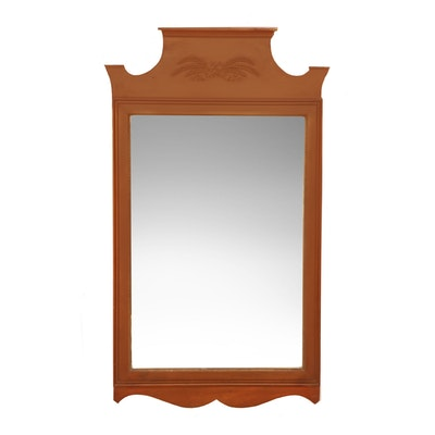 Federal Style Cherry Wall Mirror, Early to Mid 20th Century
