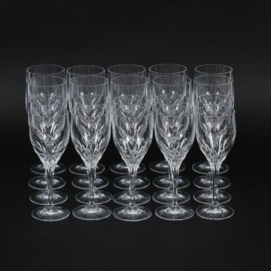 "Gorham ""Diamond Clear"" Crystal Stemware, 1989–2007"