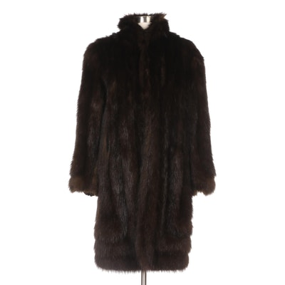 Beaver Fur Coat from Koslow of Fort Worth