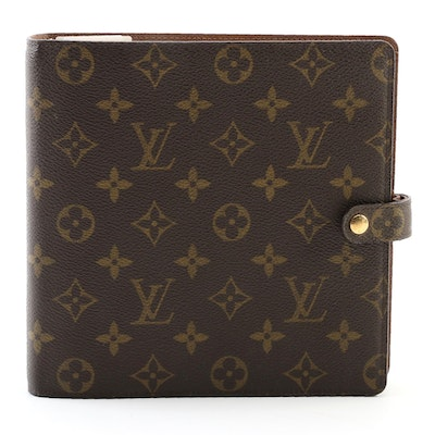 Louis Vuitton Agenda Scrapbook in Monogram Canvas