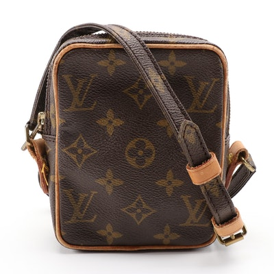 Louis Vuitton Mini Danube Crossbody in Monogram Canvas