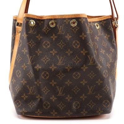 Louis Vuitton Petit Noé Bucket Bag in Monogram Canvas