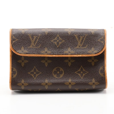 Louis Vuitton Pochette Florentine Belt Bag in Monogram Canvas