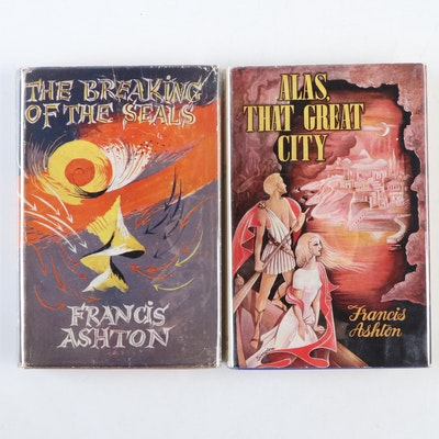 "First Editions ""The Breaking of the Seals"" and ""Alas, That Great City"" by Ashton"