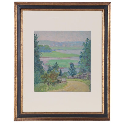 Elizabeth Jewell Landscape Oil Painting