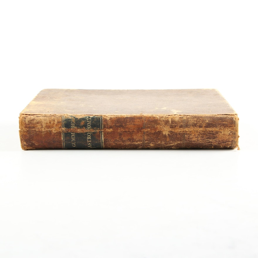 """""""An Elementary Treatise on Astronomy"""" by John Gummere, 1851"""