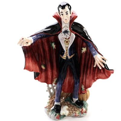 "Fitz and Floyd Ceramic Classics ""Halloween Harvest"" Dracula Figurine"