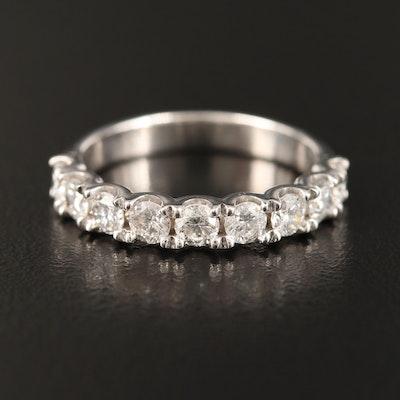 14K 1.08 CT Diamond Band
