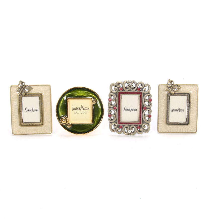 Jay Strongwater for Neiman Marcus Centennial Miniature Clip and Easel Frames