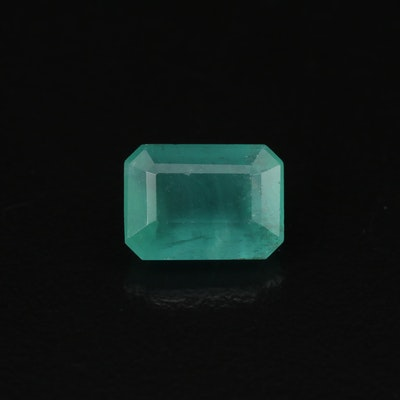 Loose 2.60 CT Octagonal Emerald with GIA Report