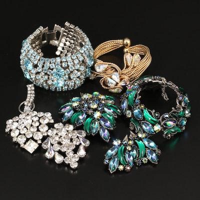 Rhinestone Jewelry Featuring Florenza