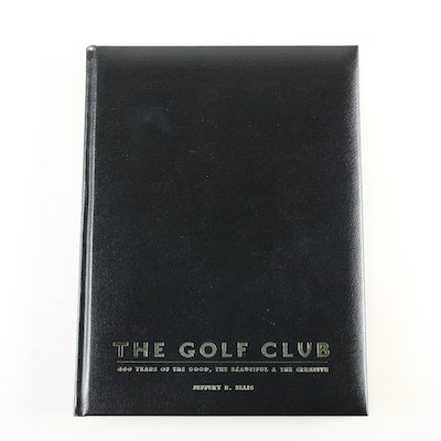 "Signed First Limited Edition ""The Golf Club"" by Jeffrey B. Ellis with Slipcase"