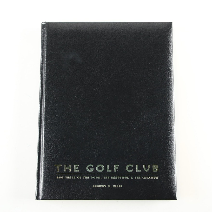 """Signed First Limited Edition """"The Golf Club"""" by Jeffrey B. Ellis with Slipcase"""