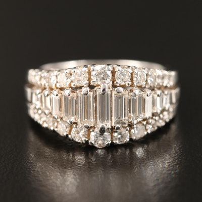 18K 1.53 CTW Diamond Ring