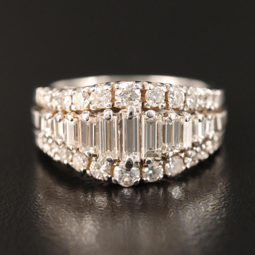 18K 1.53 CTW Diamond Ring