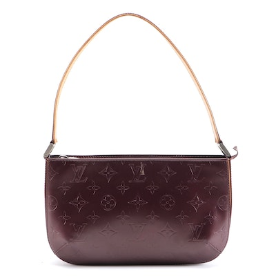 Louis Vuitton Violet Monogram Mat Fowler Bag