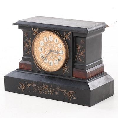 Antique Ansonia Mantle Clock, Late 19th Century