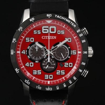 Citizen Eco-Drive Primo Chronograph Stainless Steel Quartz Wristwatch