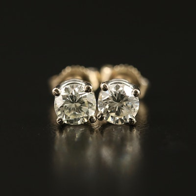 14K 0.78 CTW Diamond Stud Earrings