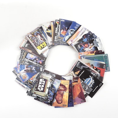 Star Wars Movie Poster Trading Cards