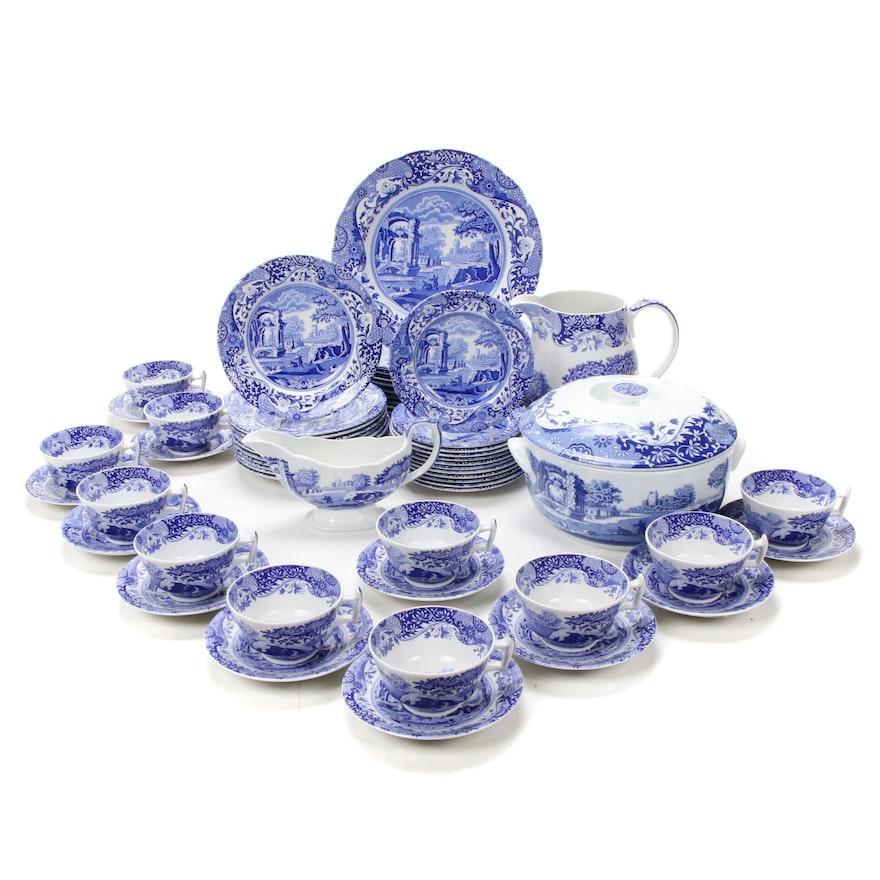 "Spode ""Blue Italian"" Ceramic Dinnerware and Serveware"