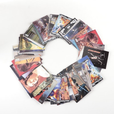 Star Wars Art Trading Cards