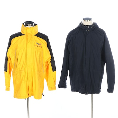 Eddie Bauer and DHG for Corvette Racing Windbreakers