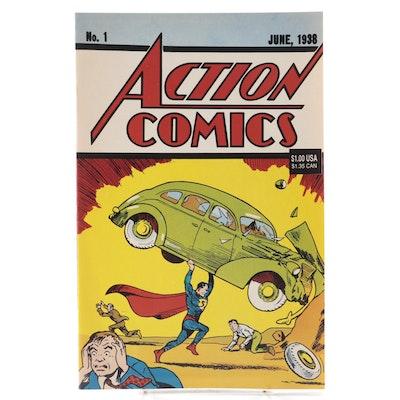 """DC Comics """"Action Comics"""" Vol. 1 #1 Reprint, 1992"""