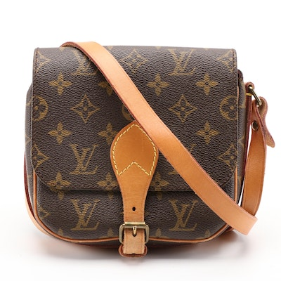Louis Vuitton Cartouchiere PM Front Flap Bag in Monogram Canvas