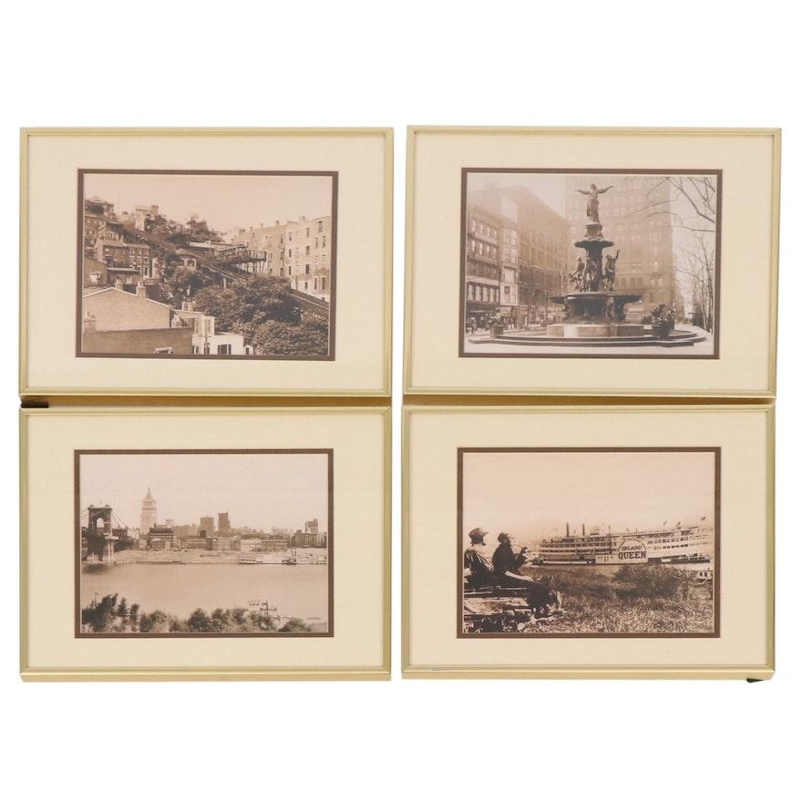 Black and White Photographs of Cincinnati Landmarks, Early 20th Century