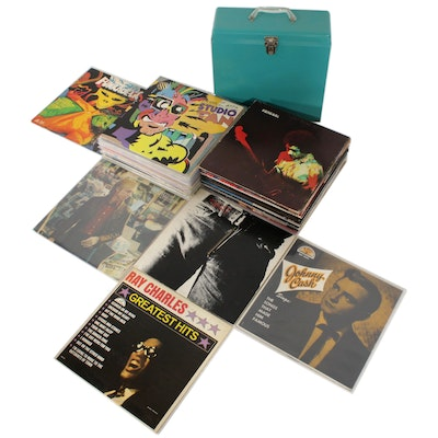 Frank Zappa, Jimi Hendrix, Rolling Stones, Johnny Cash and Other Vinyl Records