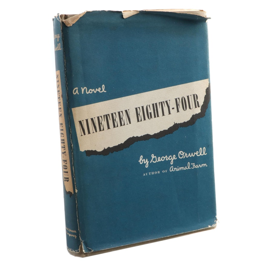 "First American Edition ""Nineteen Eighty-Four"" by George Orwell, 1949"