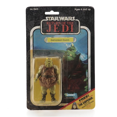 """Return of the Jedi"" Gamorrean Guard Action Figure, Original Packaging, 1983"