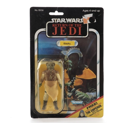 "Kenner ""Return of the Jedi"" Klaatu Action Figure in Original Packaging, 1983"