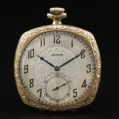 1925 Elgin Gold Filled Pocket Watch