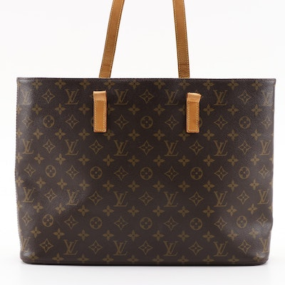 Louis Vuitton Luco in Monogram Canvas and Vachetta Leather