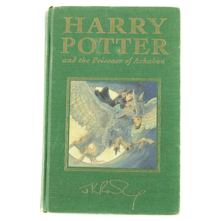 """First Printing """"Harry Potter and the Prisoner of Azkaban"""" Deluxe Edition, 1999"""