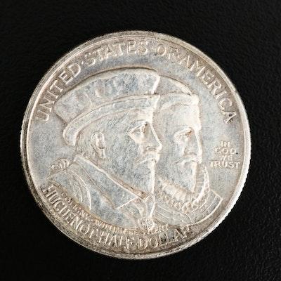 1924 Huguenot-Walloon Tercentenary Silver Half Dollar