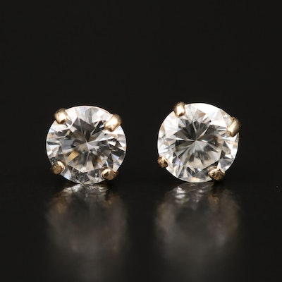 14K 0.45 CTW Diamond Stud Earrings