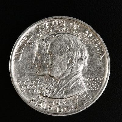 1921 Alabama State Centennial Silver Half Dollar