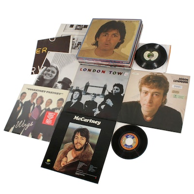 Paul McCartney, John Lennon, Wings, George Harrison and Ringo Star Vinyl Records